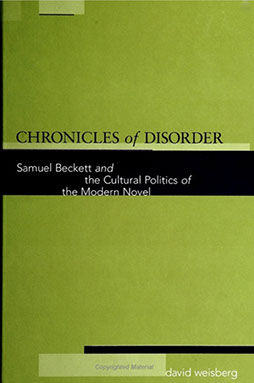 Chronicles of Disorder book cover written by David H Weisberg
